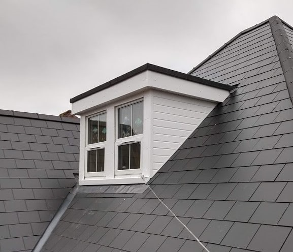 AKT Roofing Dormer with Slate Pitched roof