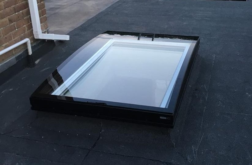 AKT Roofing Flat roflight and flat roof