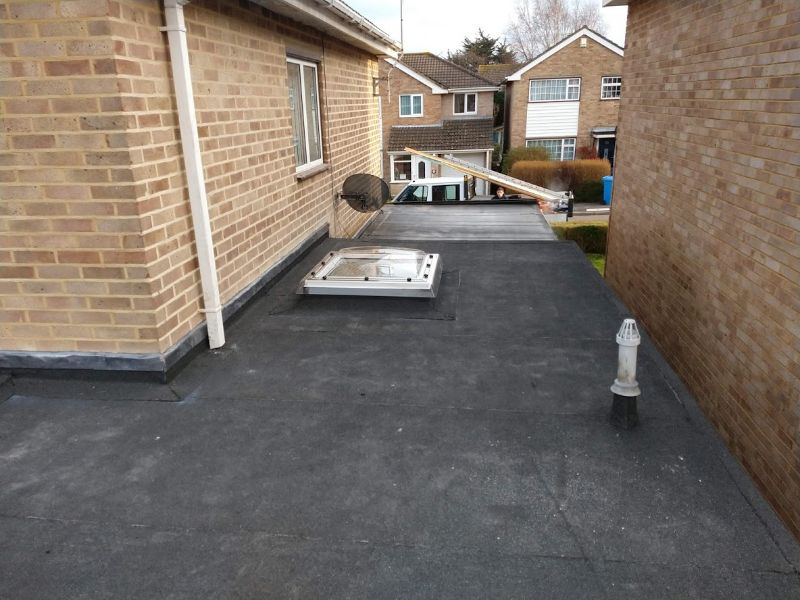 Flat roof - Rooflight