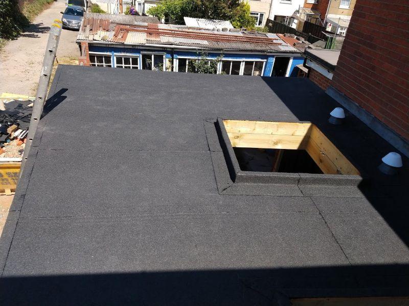 Flat roof-Rooflight