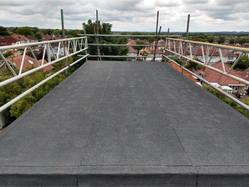 Large Flat Roof