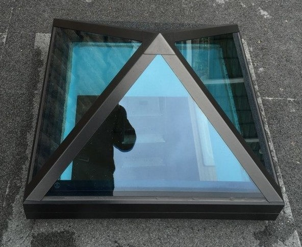 AKT Roofing Pyramid Rooflight