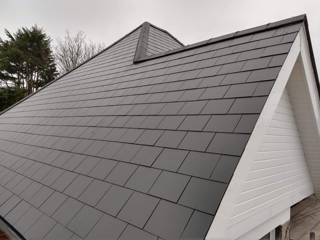 AKT Roofing Slate roof - Cladded gable